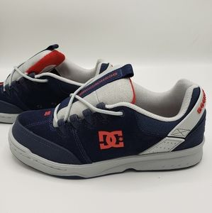 DC Shoes Syntax Navy Blue Grey Red